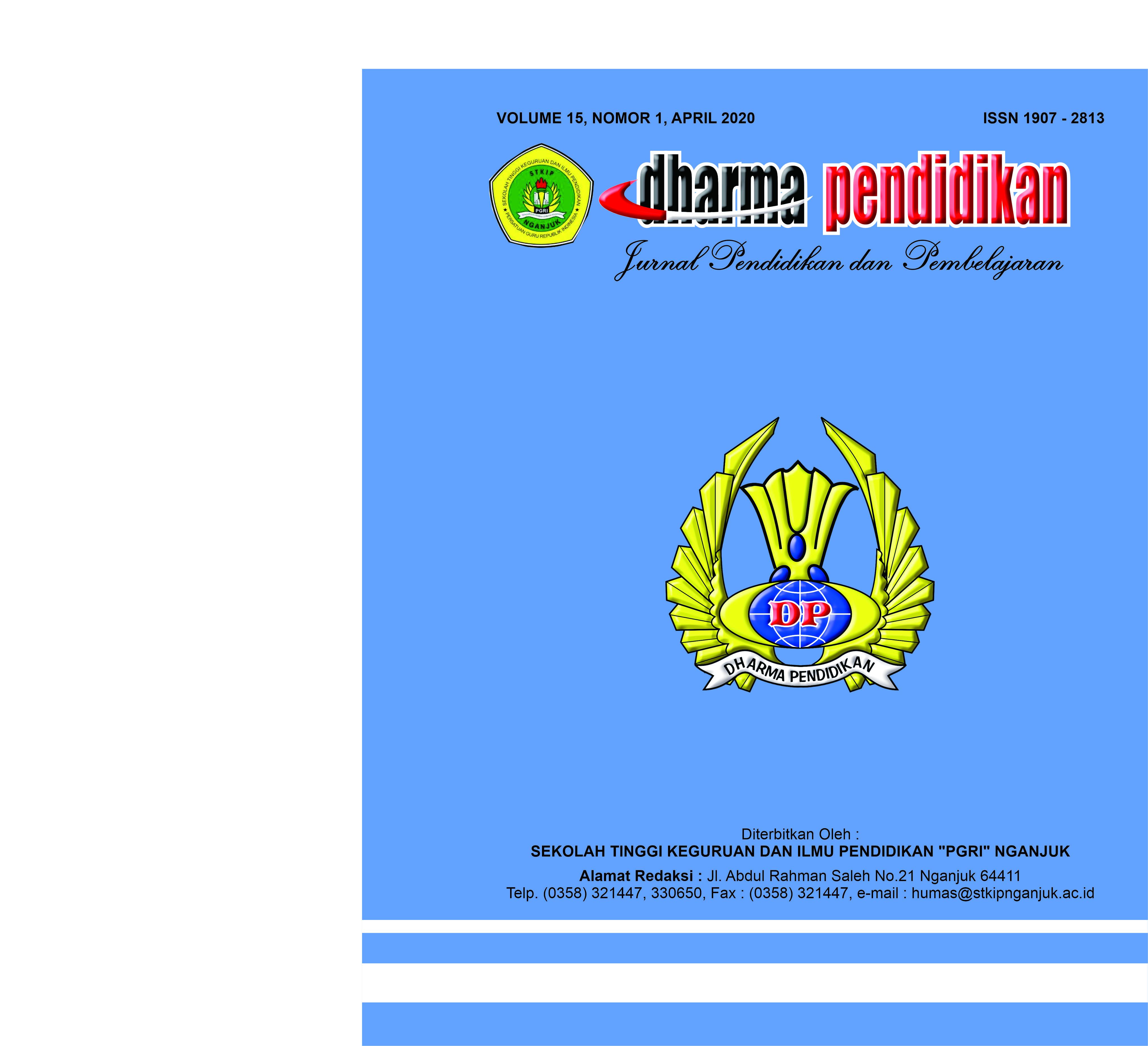 Lihat Vol 15 No 1 (2020): Dharma Pendidikan